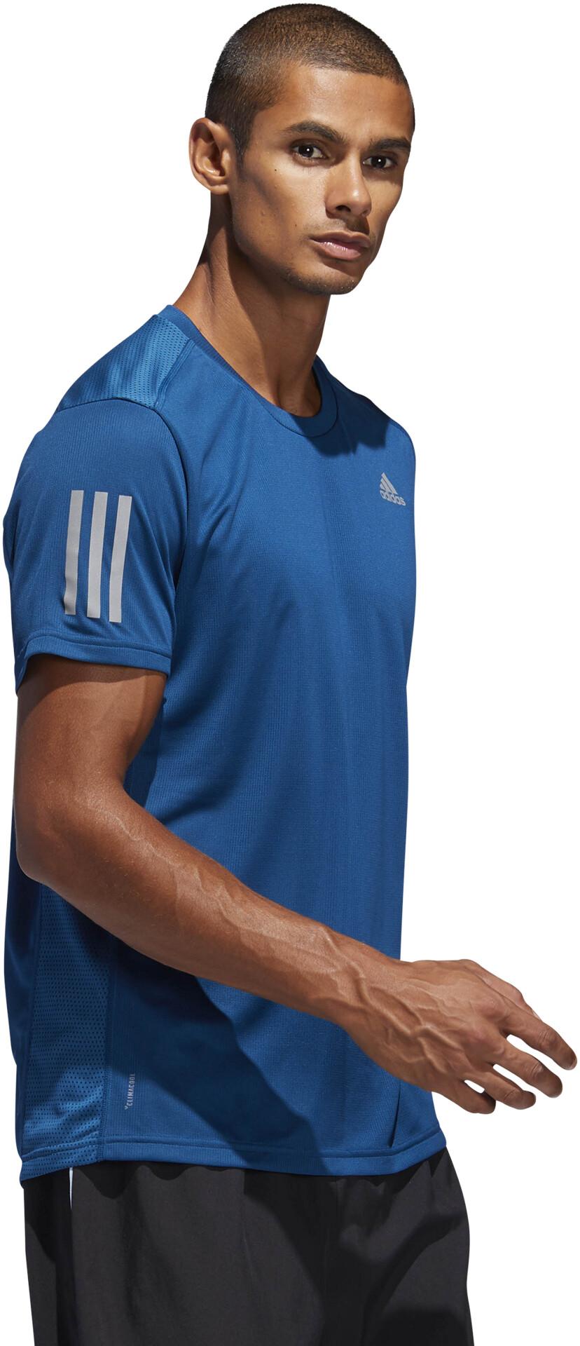 7dc376bf6d1 adidas Own The Run T-Shirt Herrer, legend marine/reflective silver